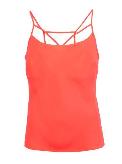 Neonově oranžové tílko Louche Legia