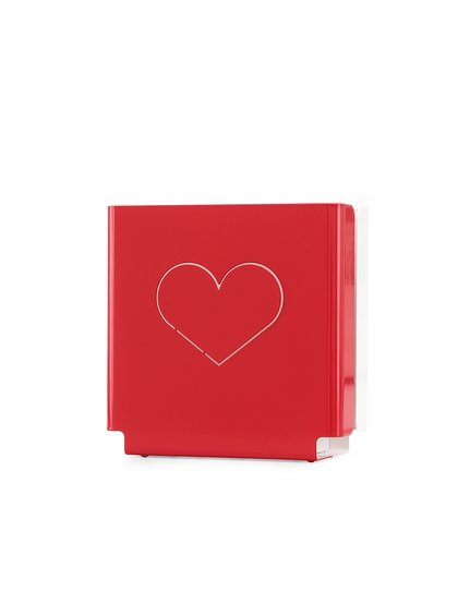 Veioză Love cu design clasic roșu de la molight