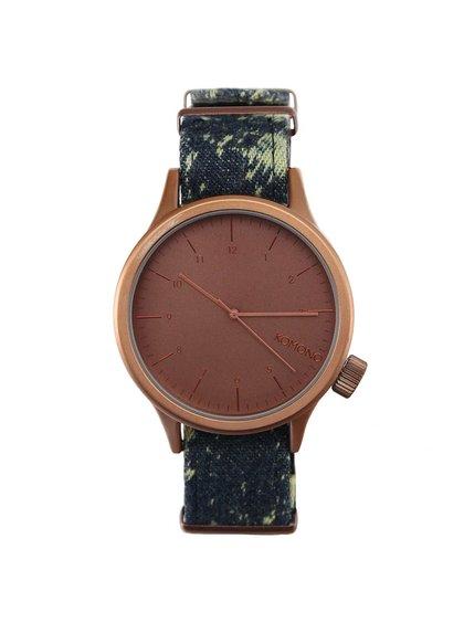 Pánske hodinky Komono Magnus Print Series Acid Denim