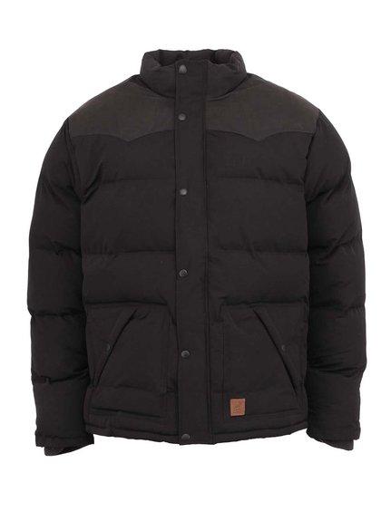 Čierna zimná bunda Fat Moose Canada