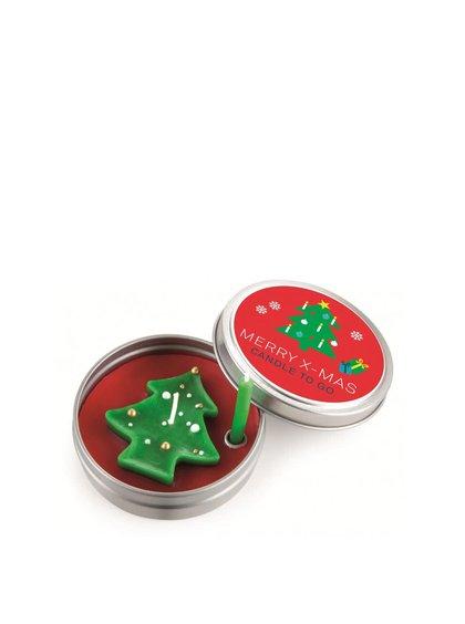 Vianočná sviečka do vrecka Donkey Merry X-Mas