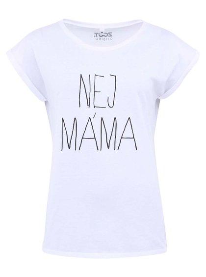 Bílé dámské triko ZOOT Originál Nej máma