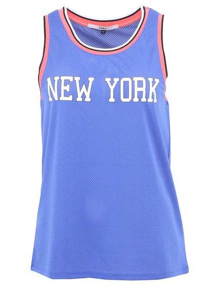 Maiou ONLY NY albastru cu sigla New York