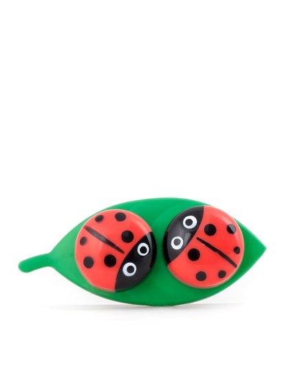 Pouzdro na kontaktní čočky Kikkerland Ladybug