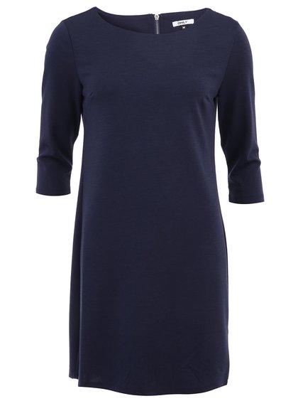 Tmavě modré minimalistické šaty ONLY Emma