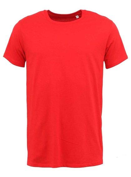 Červené pánské triko Stanley & Stella Acts