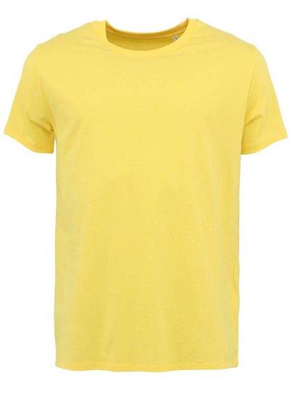 Tricou bărbătesc Leads Stanley & Stella - galben deschis