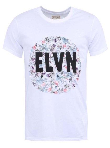 Bílé pánské triko s potiskem Eleven Paris Alfow