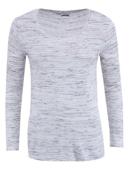 Tricou cu mânecă lungă, alb cu imprimeu, de la Noisy May Jimmy