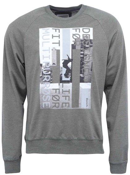 Bluză de trening bărbătească Highwalls kaki cu imprimeu de la Bench