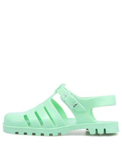 Sandale Maxi din plastic verde de la JuJu