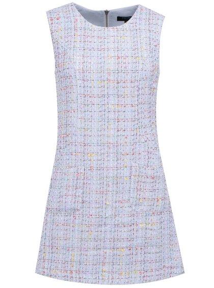 Modré vzorované šaty Fever London Livorno