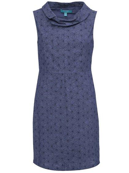 Modré pouzdrové šaty Fever London Echo