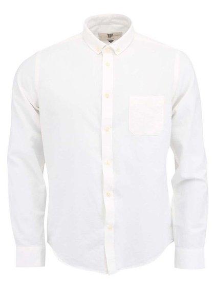 Krémová košile Bertoni Slim Fit