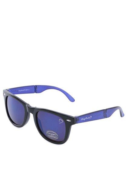 Ochelari de soare albastru cu negru Ruby Rocks