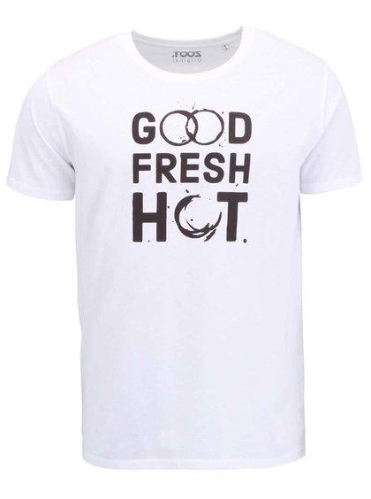 Biele pánske tričko ZOOT Original Good Fresh Hot