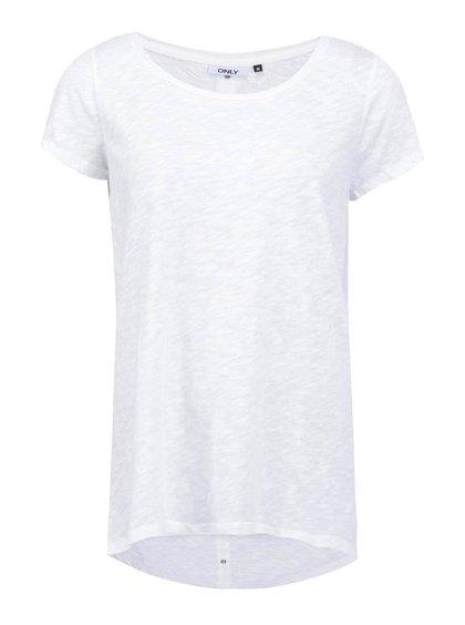 Krémové dlhšie tričko ONLY Casa