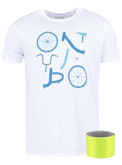 Biele pánske tričko ZOOT Originál Skladačka