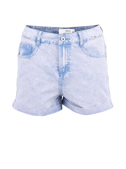 Bellfield Marina Pantaloni Scurți Denim Albastru