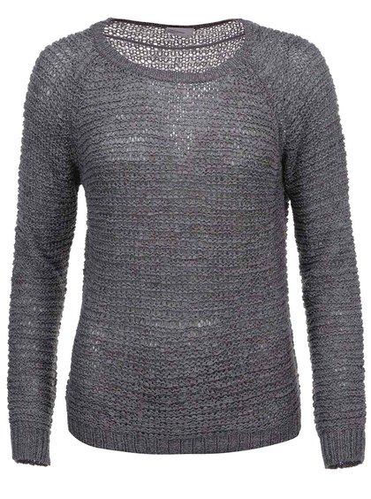 Šedý pletený svetr VERO MODA Verla