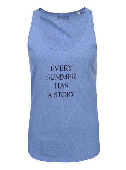 Modré dámské tílko ZOOT Originál Every Summer Has a Story