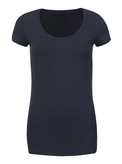 Tmavě modré tričko s kulatým výstřihem ONLY Live Love