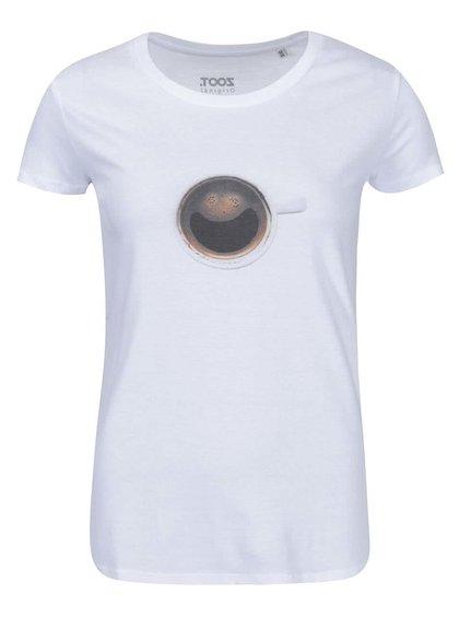 Biele dámske tričko ZOOT Originál Coffee