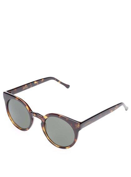 Ochelari de soare maro Komono Lulu pentru femei
