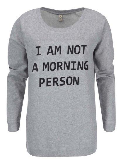 Hanorac ZOOT Original Morning Person pentru femei