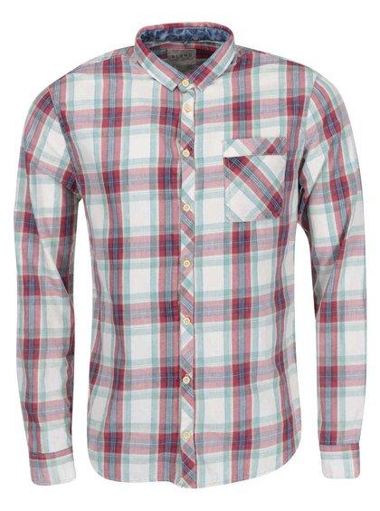 Červeno-zelená kockovaná košeľa Blend