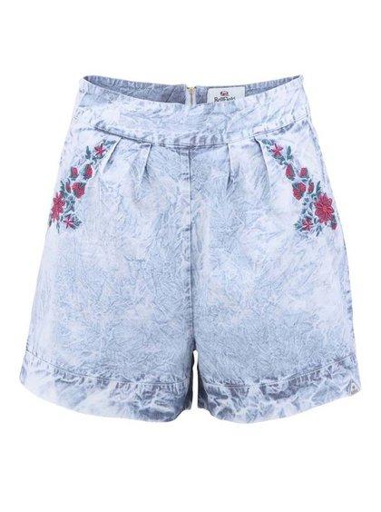 Pantaloni scurți Berry cu croială lejeră, albastru deschis, de la Bellfield