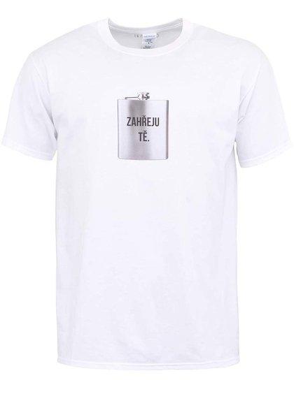 Bílé pánské triko ZOOT Originál Zahřeju tě