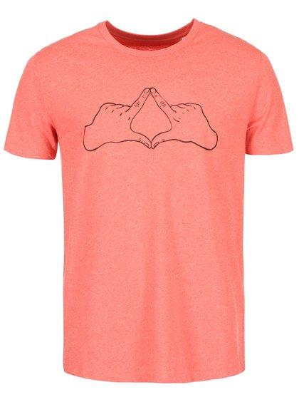 Červené pánske tričko ZOOT Originál Kosočtverec