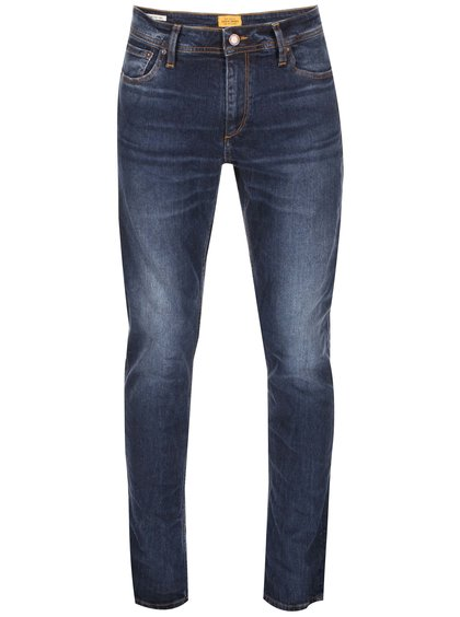 Tmavomodré skinny rifle Jack & Jones Ben