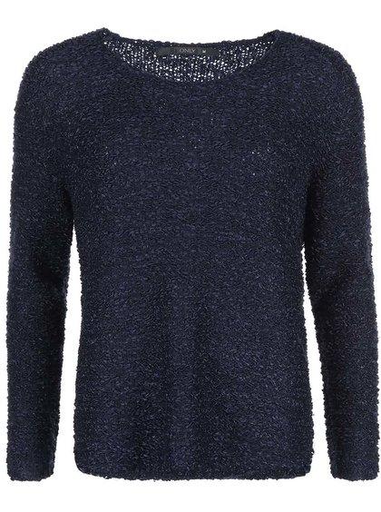Tmavomodrý voľnejší sveter ONLY Geranium