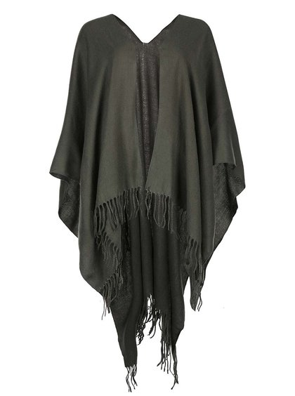 Poncho Pieces Raelyn verde