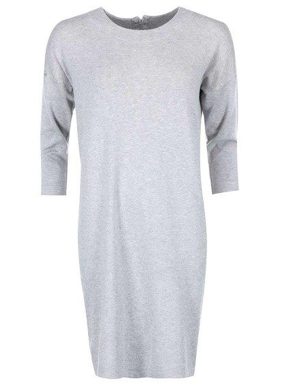 Světle šedé volnější šaty Vero Moda Glory