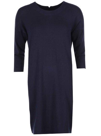 Tmavomodré voľnejšie šaty Vero Moda Glory