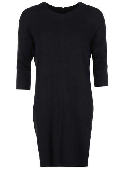 Čierne voľnejšie šaty VERO MODA Glory