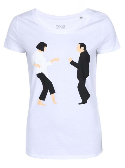 Biele dámske tričko ZOOT Originál Pulp Fiction