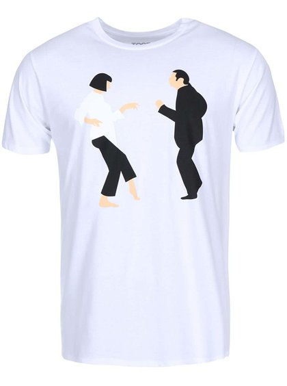 Bílé pánské triko ZOOT Originál Pulp Fiction