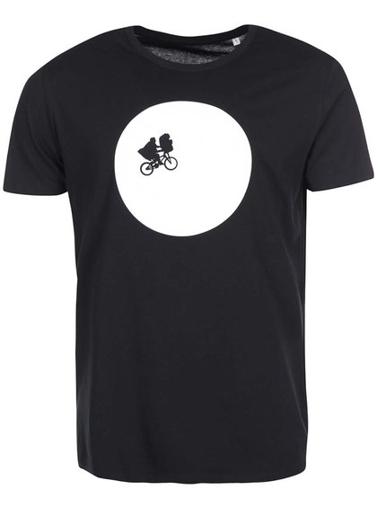 Čierne pánske tričko Zoot Originál E.T.