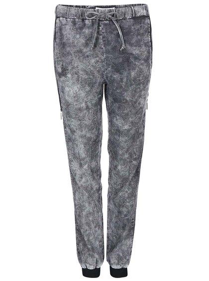 Sivé teplákové nohavice Noisy May Darren