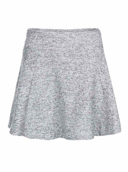 Světle šedá áčková sukně ONLY Burcle