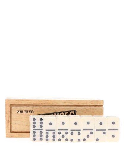 Domino în cutie de lemn de la Ridley's