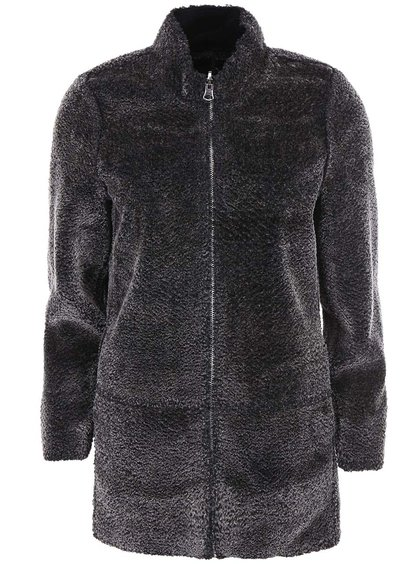 Sivý kabát Vero Moda Shirley