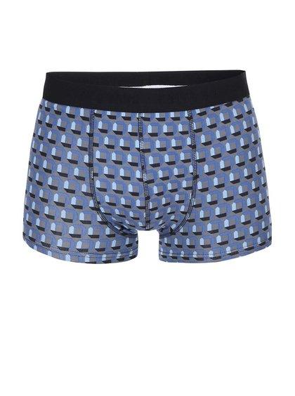 Boxeri Sergio cu model în combinația gri și albastru de la ONLY & SONS