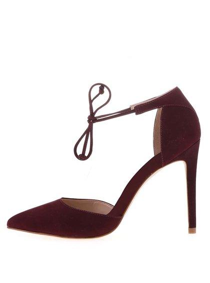 Pantofi cu toc ALDO Sorbara burgundy