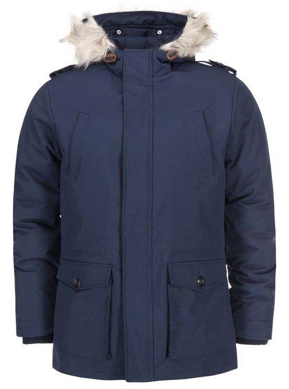 Tmavě modrá bunda !Solid Riggen