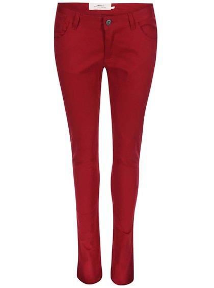 Pantaloni skinny Skunkfunk Naomi - roșu
